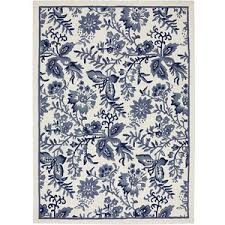 Blue And White Area Rugs Wondrous Ideas Blue And White Area Rugs Navy Rug Picture Of New