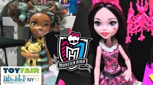 mattel dolls toy fair 2017 barbie monster high american