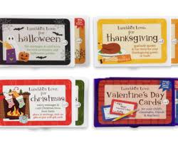 fun creative holiday lunchbox love notes halloween thanksgiving