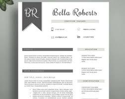 Classy Resume Template Elegant Resume Etsy