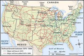 map us railways rail transportation in the united states santa