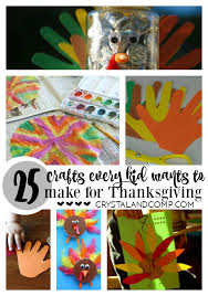 25 thanksgiving crafts for