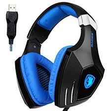black friday stereo amazon amazon com sades aw80 usb stereo gaming headset over ear with mic