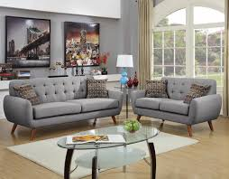 Modern Sofa And Loveseat Wayfair Ifin1166 Poundex F6912 Sofa Loveseat Grey