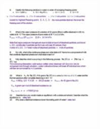 review questions unit 9 answers 110 solubi l ty curveof nh4cl i