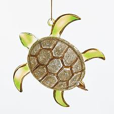 sea turtle ornaments coastal living decor