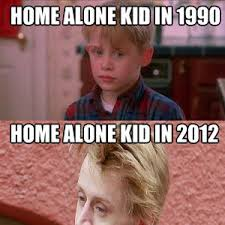 Home Alone Meme - home alone kid in 1990 and 2012 by ilija mileusnic meme center