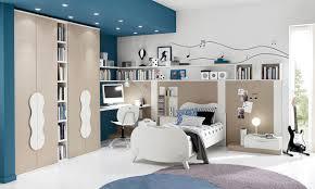 bedroom cool blue themed bedroom interior decoration using grey