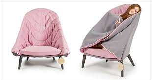 An Armchair This Chair Allows Its User To Wrap Up And Get Comfortable