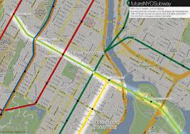 Nyc Subway Map With Street Overlay the futurenycsubway expanding the crosstown line u2013 vanshnookenraggen