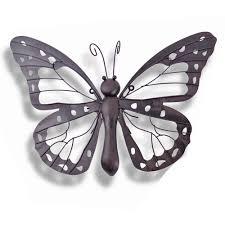 Garden Wall Ornaments by Metal Butterfly Garden Wall Art Less Shop Dma Homes 85592