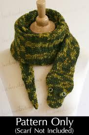 english pattern snake guides digital pdf crochet pattern for snake scarf diy fashion