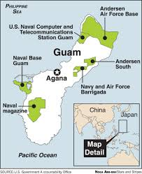 Map Of Guam N Korea Puts Guam Plan On Hold As Sides Move To De Escalate