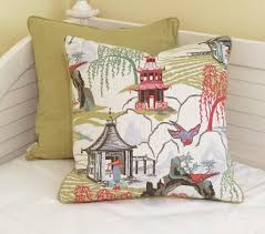 design kissenh llen robert allen neo toile in coral designer pillow covers with piping