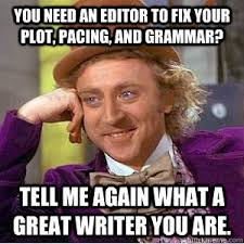 Meme Picture Editor - writing and editing the book of writing