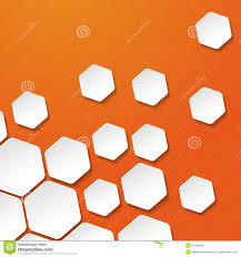 orange and white wallpapers white paper hexagon target labels orange stripes b royalty free