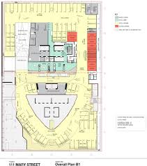 Floor Plans With Porte Cochere New Hotel And Apartment Tower For 111 Mary Street