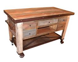 Kitchen Island Prep Table by Crafters And Weavers In Business For Almost 20 Years In Usa