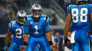 panthers vs cowboys tony romo re injures clavicle panthers win