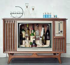 Room And Board Bar Cabinet 9 Ways To Fake A Bar In Your House Television Console Vintage