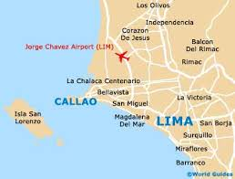 lima map map of lima jorge chavez airport lim orientation and maps for
