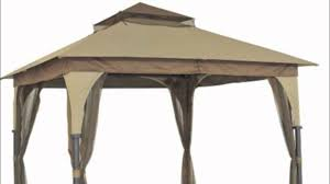 For Living Gazebo Cover by Target Outdoor Patio 8x8 Gazebo Replacement Canopy Youtube