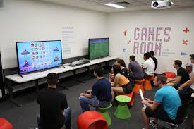 supple practice game desk plus black chairon gaming room ideas as