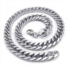 titanium curb chain necklace images Curb chain mens titanium necklace 19217 121 titanium jewellery uk jpg