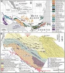 Southern Mexico Map by Single Grain Apatite Geochemistry Of Permian U2013triassic Granitoids