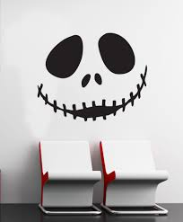 extremely nightmare before christmas wall decor astounding decal