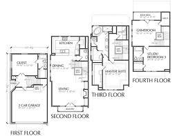 Duplex Townhouse Plans Townhouse Plan D5130 C7 U0026 C8