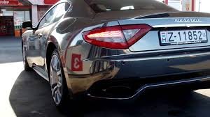 maserati gt sport black chrome black maserati granturismo sport start up sound youtube