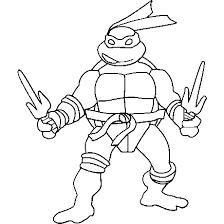 ninja turtles coloring pages boo ninja turtles