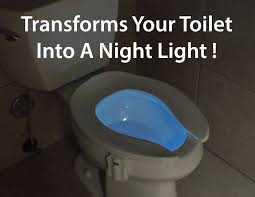 glowbowl u2013 motion activated night light for your toilet high