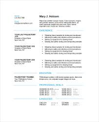 German Resume Sample by Phlebotomy Resume Template 6 Free Word Pdf Documents Download