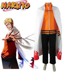 Naruto Costumes Halloween Seventh Hokage Costume Promotion Shop Promotional Seventh