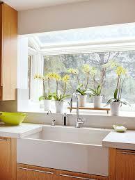 Kitchen Sink Window Ideas Farmhouse Sink Ideas Household Kitchen Design And Sinks