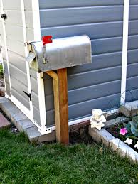 mailbox garden tool storage weekend yard work series little