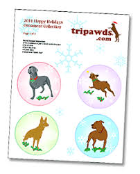 tripawds downloads free paper ornaments and dreidel