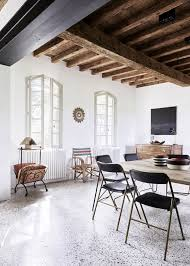 modern rustic french country house camargue original details