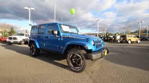 jeep polar edition 2014 jeep wrangler unlimited polar edition hydro blue el199485