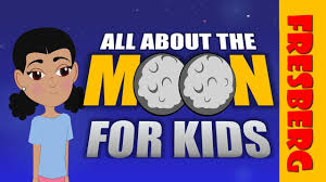 the moon for moon facts for educational