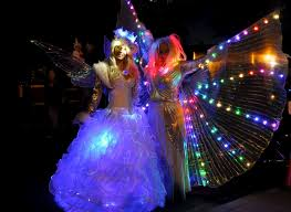 light up fairy wings epic light up snow fairy costume glowing winter cosplay erin st