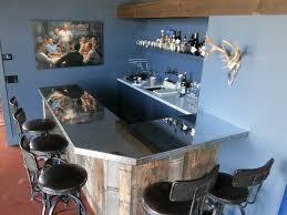 Zinc Top Bar Table Metal Bar Tops U2014 Bistro Bar Tops