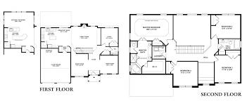 single family floor plans montclair single scenic view floor plans kay builders