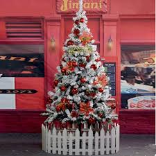 aliexpress buy 1 5 m 150cm snow snowflake tree