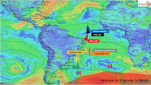 meteo sur mon bureau the leaders get out of the doldrums vendée globe