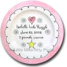 personalized ceramic plates 60 best my pottery images on painted baby