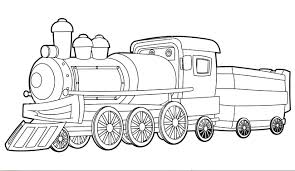 train coloring pictures print passenger pages printable