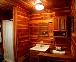 Wallpaper Ideas For Small Bathroom Design Bathroom Bathroom Wall Bathroom Wallpaper Cabin Cabin